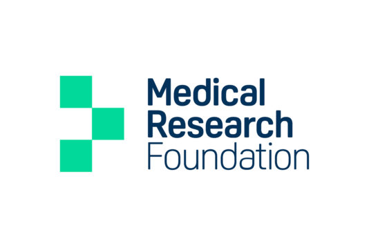 Medical Research Foundation identity