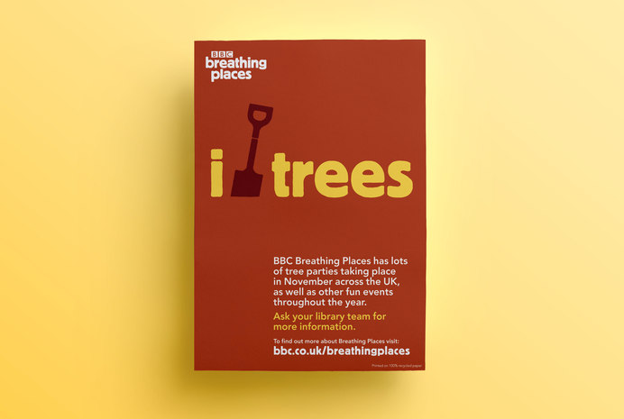 BBC Breathing Places tree poster 1400