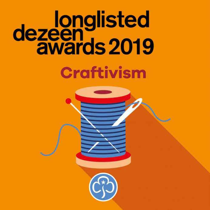 Girlguiding Badges Dezeen Awards 2019 Longlist
